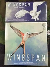 Stonemaier Boardgame  Wingspan (Revised Ed) w/European Expansion NIB