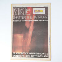 NME magazine 21 June 1986 SONIC YOUTH cover Dr and the Medics Weather Prophets