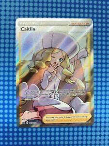 Pokemon TCG CHILLING REIGN - Caitlin Full Art Trainer Card 189/198 - Pack Fresh
