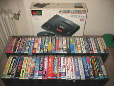 SEGA MEGADRIVE IMPORT JAP CONSOLE + 50 GAMES BOXED RARE!HUGE LOT!