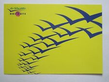 le shuttle.Holiday postcard. Issued in 1994 a year before the tunnel opened.Mint