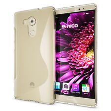 Huawei Mate 8 Hülle Handyhülle von NALIA, Silikon Case Cover, Dünne Schutzhülle