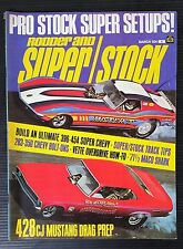 Rodder & Super Stock Mar 1971 - 428 Mustang - 1955 & 1956 Chevy - 1954 Corvette