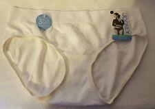 Jockey Women's Microfiber SeanFree Hipster Panties  - Size 7 - White - NWT