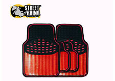 Aixam Crossline Universal Metallic Style Red Revelation Car Mat Set x 4