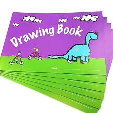 Ivy Stationery - A4 DESSIN Livre - 24 pages - Lot de 6 - bk0260