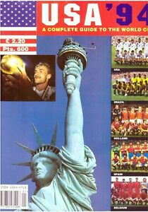 USA 1994 - A Complete Guide To The World Cup Magazine