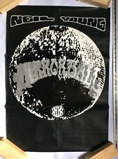 Neil Young Poster 'Mirror Ball' 1995 Reprise Promo Poster in Good Condition