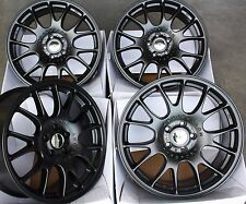 "18"" BLACK CH ALLOY WHEELS FITS FORD 5X108 FOCUS MONDEO TRANSIT CONNECT EDGE"