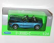 Welly - BMW Z4 (Blue) Die Cast Model - Scale 1:24