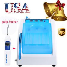 US Dental Handpiece Maintenance Cleaner Lubrication Oiling machine + pulp tester