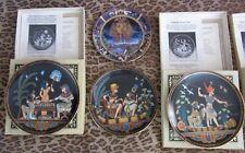 "Bradford Exchange ""The Legend of Tutankhamun"" Collectible Plates (Set of 7 plus"