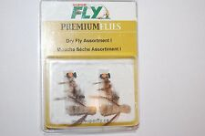 superfly premium flies dry fly flyfishing assortment 1 kit 10 trout etc...