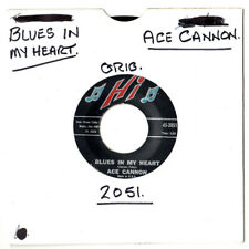 "ACE CANNON.BLUES IN MY HEART / BLUES (STAY AWAY FROM ME).U.S.ORIG 7"".EX"