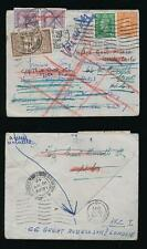 GB to FRANCE MONACO TWICE CHARGED POSTAGE DUES for REDIRECTION NICE +MONTE CARLO