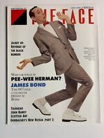 THE FACE Magazine July 1987 - Pee Wee Herman, James Bond, John Barry