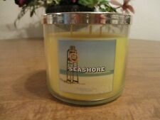 BATH & BODY WORKS SEASHORE 3 WICK 14.5 OZ CANDLE