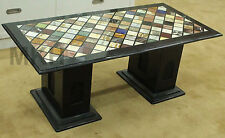 Handmade Marble Table Inlay Work Center Table Italian Design Furniture Marquetry