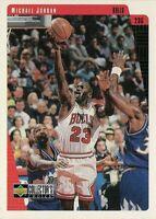 1997 UPPER DECK MICHAEL JORDAN BULLS COLLECTORS CHOICE #23 NBA BASKETBALL CARD