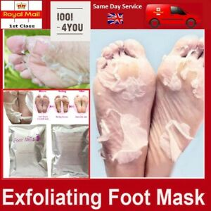 Exfoliating Peel Foot Sock Mask Baby Soft Feet Removes Dead Skin lavender sent