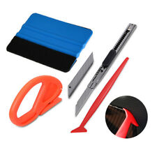 Pro 5pcs Car Vinyl Wrapping Tools Kit Window Tint Tuck Gasket  Squeegee UK SHIP