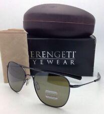 SERENGETI Polarized Photochromic Titanium Sunglasses Aerial 7978 Gunmetal Frame