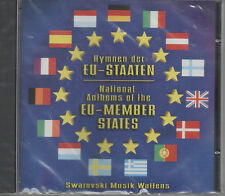 Hymnen der EU Staaten National Anthems of Member States CD NEU Nationalhymnen