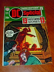 DC SPECIAL #4 (DC 1969) VG+ (4.5) cond.  KEY: First ABEL App.  NEAL ADAMS cvr