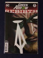 Green Arrow Rebirth # 1 - 2nd printing - DC Comics 2016 NM