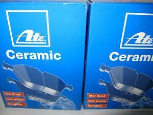 ATE Ceramic-Bremsbeläge mit Wkt BMW X3 und X4, F25/F26 Satz für vorne u. hinten