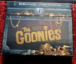 Les Goonies coffret  [Édition Collector-4K Ultra HD + Blu-Ray + Goodies] NEUF