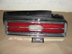 OEM 1974 Ford Galaxie RIGHT PASSENGER SIDE TAIL LIGHT LENS BEZEL REVERSE BACK-UP