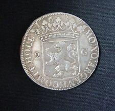 Munt Nederland: Provinciale 2 Gulden HOLL 1687 (Zilver)