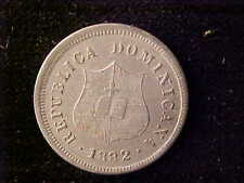 DOMINICAN REPUBLIC 2 ½ CENTAVOS 1882