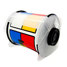 Brady Outdoor RTK Labels Black/Red/Yellow/Blue on White 115765 (240 Labels)