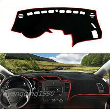 For KIA FORTE CERATO 2015 2016 2017 Dashboard Dash Mat DashMat Sun Cover Pad Red