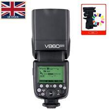 UK Godox V860II N VING TTL Li-ion Camera Flash Speedlite Strobe for Nikon+GIFT