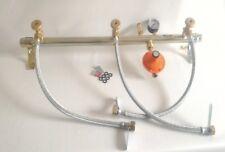 Centralina Gas Eurogas 3 bombole Gpl regolatore 4 kg sicurezza manometro flex