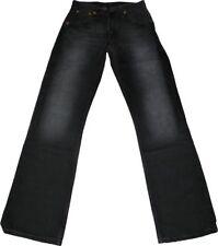 L32 Herren-Bootcut-Jeans mit niedriger Bundhöhe (en) Untersetzte Größe