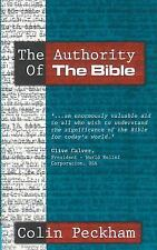 The Authority of the Bible, Peckham, Colin,1857924363, Book, Good