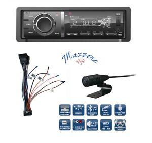 PHONOCAR VM017 SINTO-CD SD BT MICROFONO CABLAGGIO AUTO FRONTALINO ESTRAIBILE