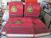 """Enciclopedia Mondadori"""" Il Mondo Delle Cornicette """"Ciencias - 1967 4 Tomos +"""