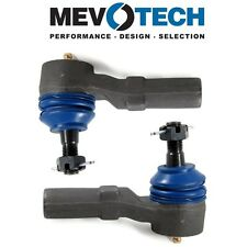 For Mazda MX6 Protege Pair Set of 2 Front Outer Tie Rod Ends Mevotech MES3197RL