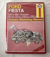 Ford Fiesta 1976-83 Owner's Workshop Manual #334 J. H. Haynes All Models