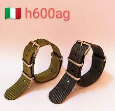 Cinturini Nato 20 mm Confezione da 2 pezzi per Seiko Rolex Omega Breitling