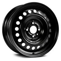 RT Wheel 16x6.5 (47, 4x108, 63.4) Black Single Rim