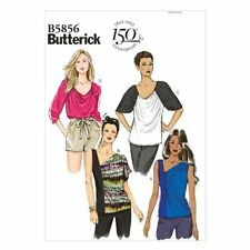 Butterick Patterns B5856 Misses' Top Sewing Template, Size ZZ