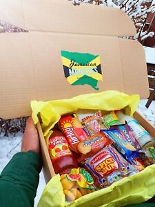 Jamaican Gifts Caribbean Food Snacks Drinks Food Box Package Hamper Gift £10