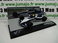 SEN29T  eaglemoss 1/43 F1 BRESIL Formule 1 BRABHAM BT52B A.SENNA test 1983