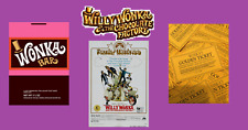 Willy Wonka & The Chocolate Factory Set Golden Ticket > Wrapper > Poster Replica